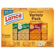 Lance Cheese Lover's Variety Pack
