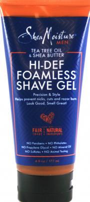 Shea Moisture Men Hi-Def Foamless Shave Gel