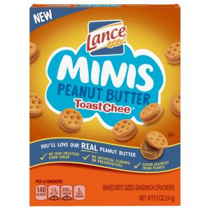 Lance Mini Toast Chee Peanut Butter Crackers