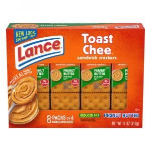 Lance Reduced Fat Toastee Crackers