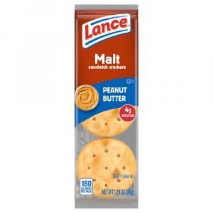 Lance Single Serve Malt Peanut Butter Crackers