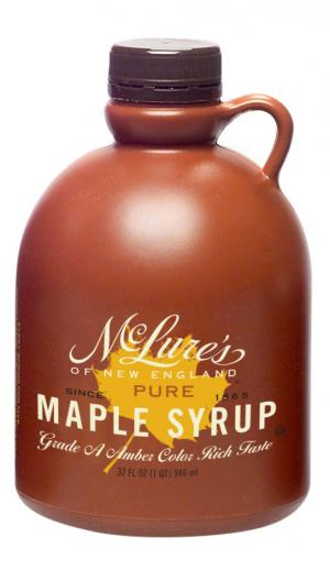 McLure's Pure Maple Syrup Grade A Amber