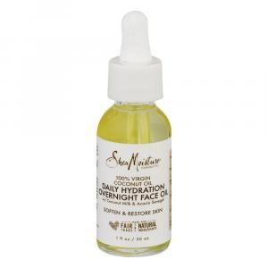 Shea Moisture Coconut Oil Daily Hydration Overnight Face Oil