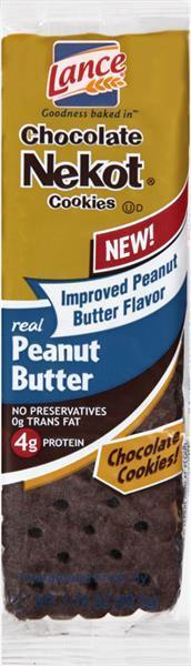 Lance Single Serve Chocolate Nekot Peanut Butter