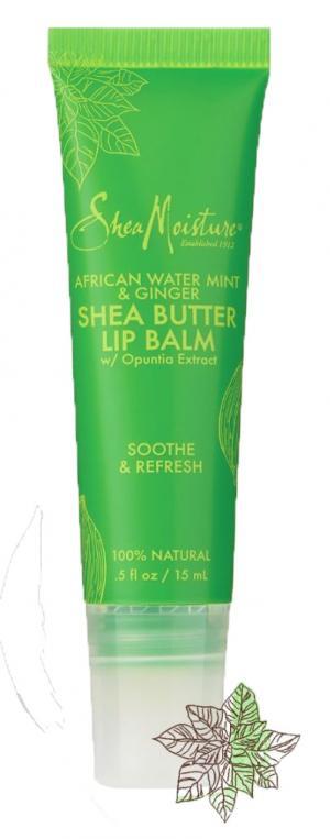 Shea Moisture African Water Mint & Ginger Lip Balm