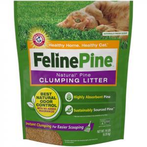 Feline Pine Clumping Cat Litter