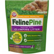Feline Pine Clumping Cat Litter