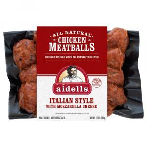 Aidells Zesty Italian Meatballs
