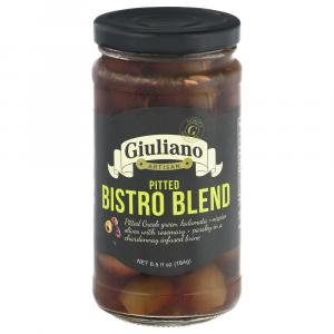 Giuliano Pitted Bistro Blend Olives