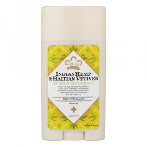 Nubian Heritage Indian Hemp & Haitian Vetiver Deodorant