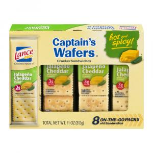 Lance Captain's Wafers Jalapeno Cheddar Crackers
