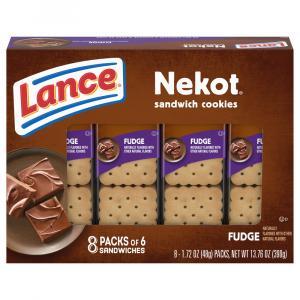 Lance Nekot Fudge Sandwich Cookies