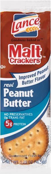 Lance Single Serve Peanut Butter Malt
