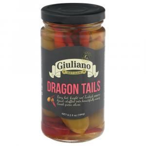 Giuliano Dragon Tails Stuffed Olives