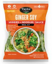 Taylor Farms Ginger Soy Veggies & Noodles + Sauce Meal Kit
