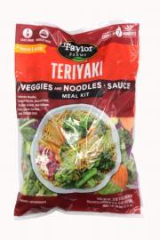 Taylor Farms Teriyaki Veggies with Noodles & Sauce Meal Kit