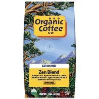 Organic Coffee Company Organic Ground Zen Blend