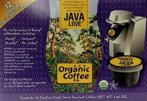 Organic Coffee Company Organic Java Love 1 Cup