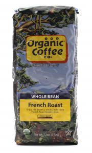 The Organic Coffee Co. French Roast Whole Bean Coffee