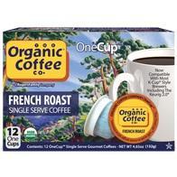 Organic Coffee Company Organic French Roast 1-Cup