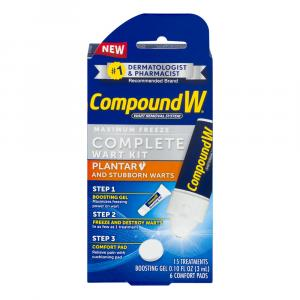 Compound W Maximum Freeze Complete Wart Kit