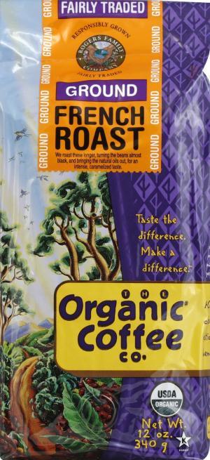 Organic Coffee Company Fair Trade French Roast Coffee