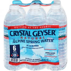 Crystal Geyser .5L Spring Water