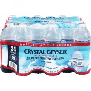 Crystal Geyser Alpine Spring Water