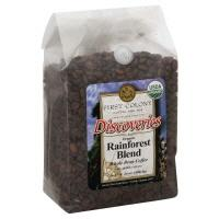 First Colony Discoveries Rainforest Blend Whole Bean Coffee
