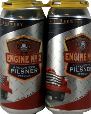 Boothbay Craft Brewery Engine No. 2 Pilsner