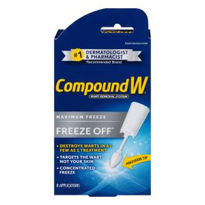 Compound W Freeze Off