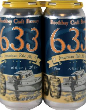 Boothbay Craft Brewery 633 American Pale Ale