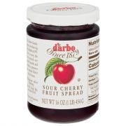 D'Arbo All Natural Marasque Sour Cherry Fruit Spread