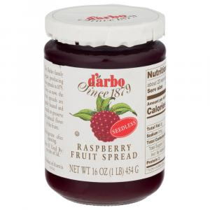 D'Arbo All Natural Raspberry Fruit Spread