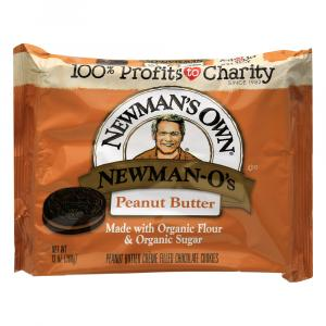 Newman's Own Peanut Butter Creme Filled Chocolate Cookies