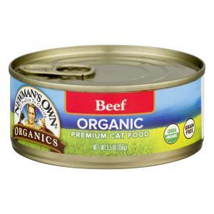 Newman's Own Organics Beef Grain Free Cat Food