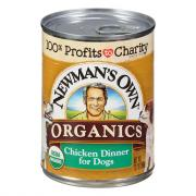 Newman's Own Organics Chicken Dinner Dog Food