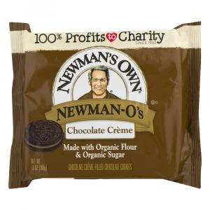 Newman-O's Creme Filled Cookies - Chocolate