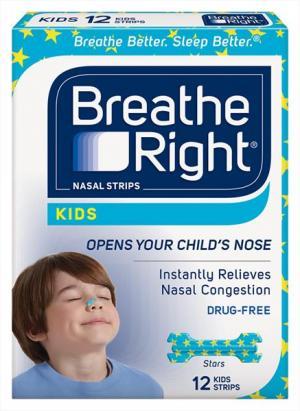 Breathe Right Kids Nasal Strips