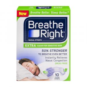 Breathe Right Extra Clear