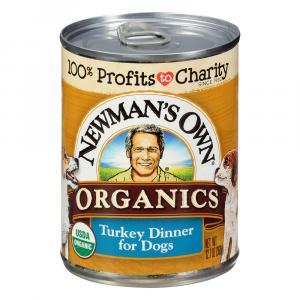 Newman's Own Organics Turkey Dinner Dog Food