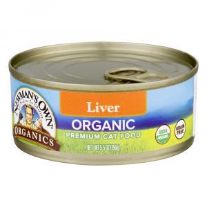 Newman's Own Organics Liver Grain Free Cat Food