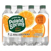 Poland Spring Sparkling Orange Water