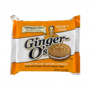 Newman-o's Ginger Cookies