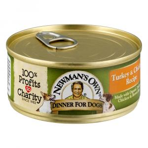 Newman's Own Organics Turkey & Chicken Canned Puppy Food