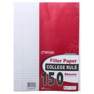 Filler Paper College Rule