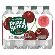 Poland Spring Sparkling Black Cherry Water