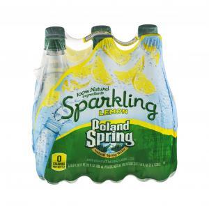 Poland Spring Lemon Sparkling Water