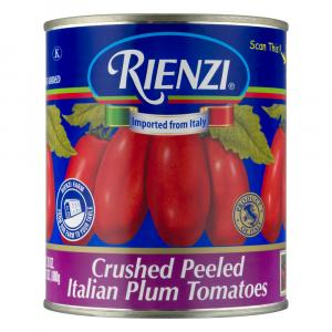 Rienzi Crushed Peeled Italian Plum Tomatoes