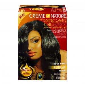Creme Of Nature With Argan Oil Relaxer Kit